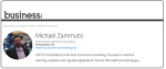 Michael Zammuto Writes for Business.com, CIO.com and other sites.